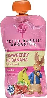 Peter Rabbit Organics Baby Strawberry Banana, 4 oz