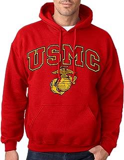 USMC Marines Red Hoodie