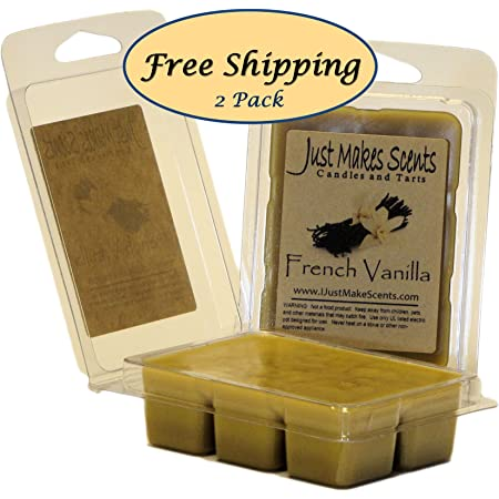 Jamaican Vanilla Cafe 2 Pack Home Fragrance - Scented Soy Wax Melt Vanilla Coffee