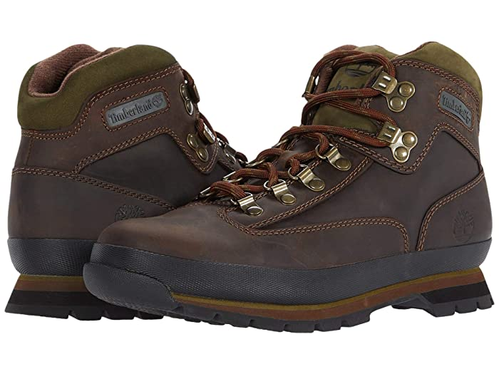 Timberland  Euro Hiker (Brown Oiled Leather) Mens Boots