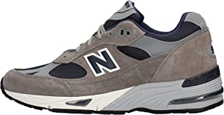Sneaker New Balance 991 Uomo M991ANG in pelle scamosciata e tessuto