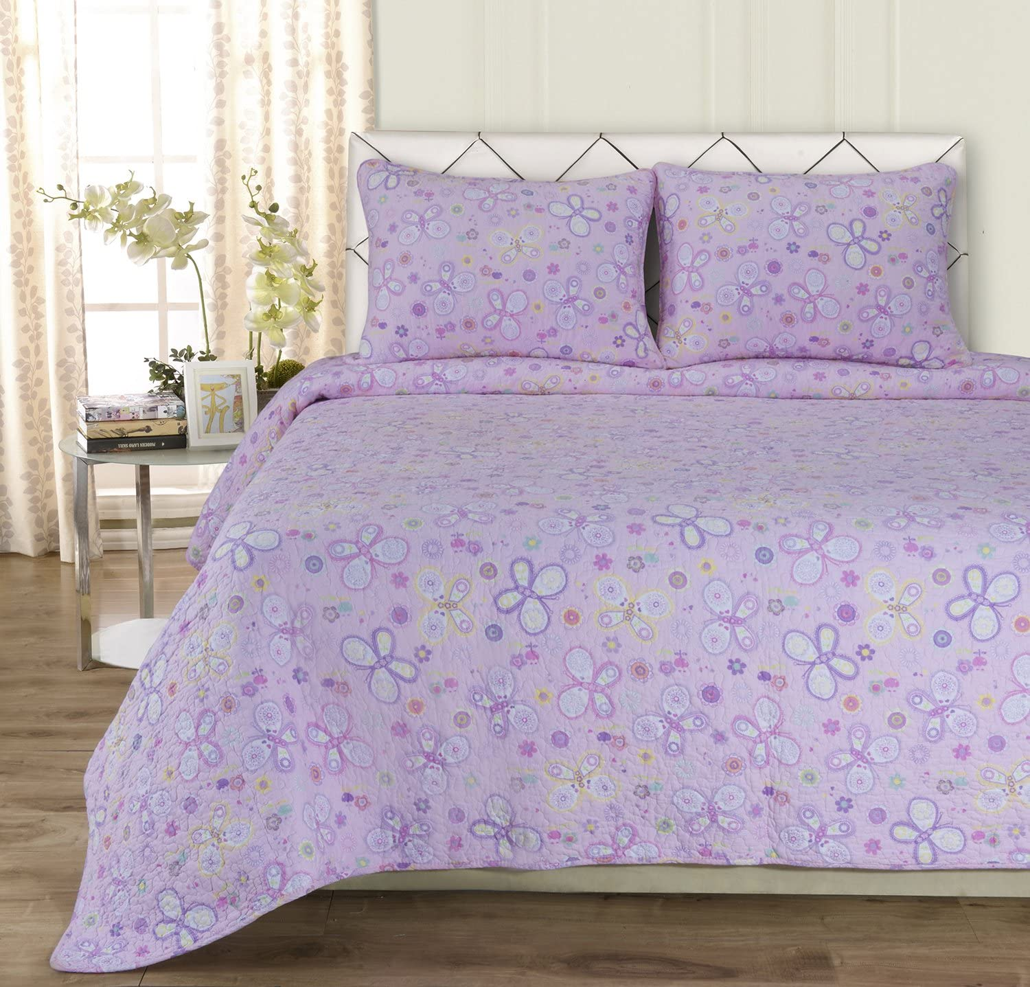 Superior Amy 100% Cotton High quality new Full Quilt Set Queen Fashionable