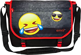 Undercover EMLG7645 Schultertasche, Emoji, ca. 25 x 33 x 9 cm