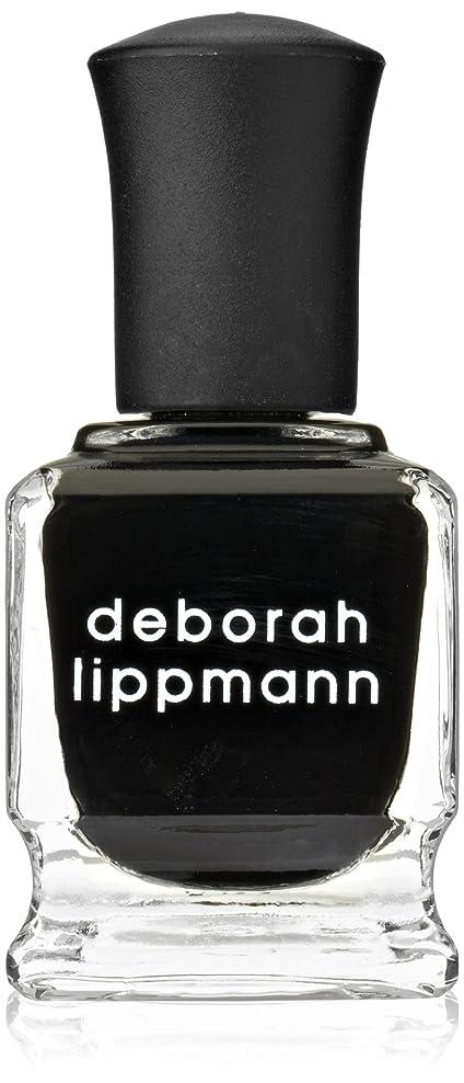 シンプルさ郵便局シエスタ[Deborah Lippmann] デボラリップマン フェイド トゥ ブラック FADE TO BLACK マットなブラック。 発色よく透けずにしっかり色付きます カッコイイ、インパクトのあるネイルポリッシュです 容量15mL