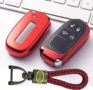 WFMJ 2Pcs for Dodge Durango Dakota Grand Caravan Ram Caravan Keyless Entry Remote 3 Buttons Key Case Fob