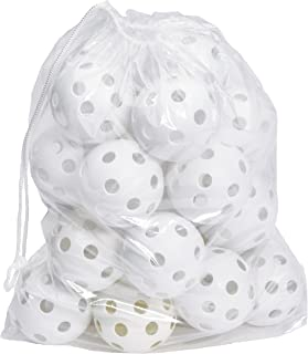 Hot Glove Bag of 25 White Practice Softballs