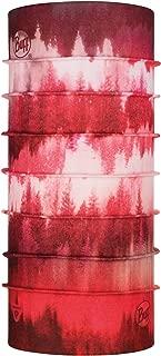 Buff Misty Woods Blossom Tour de Cou Thermonet Femme Fleur Rouge FR Unique Fabricant Taille One sizeque