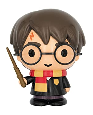 HARRY POTTER 48353 Cute Figural PVC Bank, Multi Color