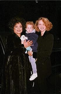 Vintage photo of Eartha Kitt with her daughter Kitt and her little granddaughter