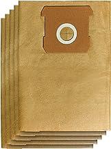 Oryginalny worek na brud Einhell 10 l (akcesoria do odkurzania na mokro i sucho, 10 litrów, 5 sztuk w zestawie, pasuje do ...