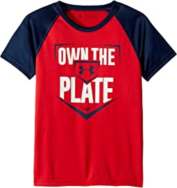 Own The Plate Raglan (Little Kids/Big Kids)