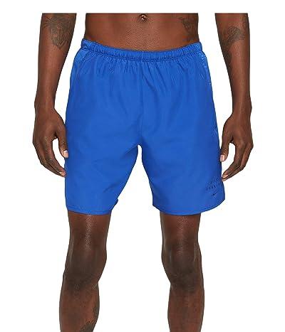 Nike Run Dvn Challenger Shorts 7 Brief Graphic (Game Royal/Game Royal/Black Reflective) Men