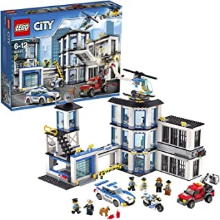 LEGO City Police Station Building Blocks for Kids 6 to 12 Years ( 894 Pcs) 60141