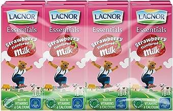 Lacnor Strawberry Milk - 180 ml x 8