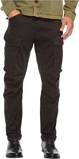 G-Star Rovic Zip 3D Tapered Fit Pants in Premium Micro Stretch Twill Raven