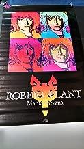 Robert Plant Manic Nirvana 1990 promotional store poster PBX9