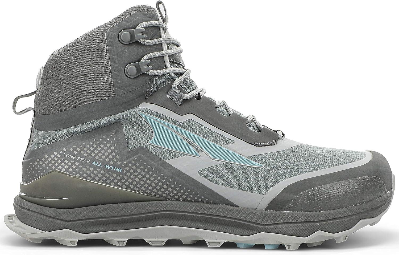 ALTRA Womens AL0A4VRA Lone Peak All-WTHR Mid Trail Running Shoe