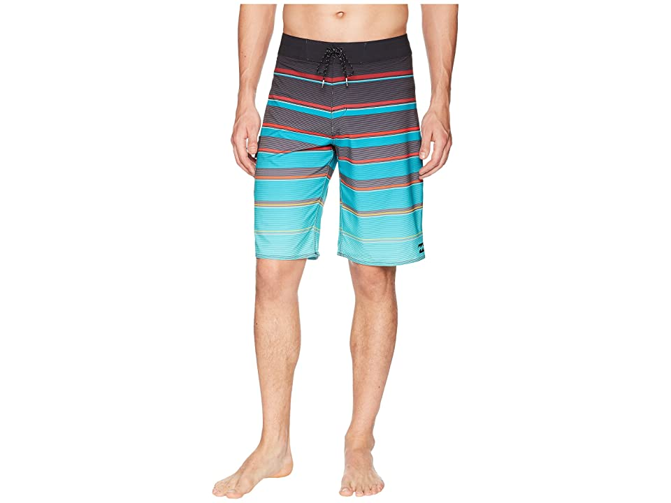 Billabong All Day X Stripe Boardshorts (Aqua) Men