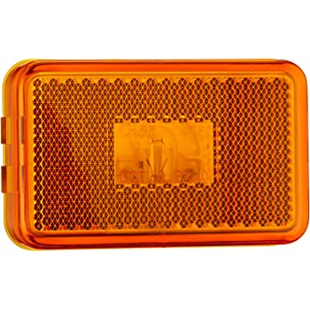 Grote 45233 Yellow Clearance Marker Light with Built-In Reflector