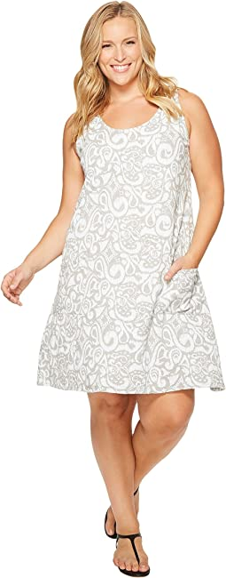 Extra Fresh by Fresh Produce - Plus Size Wander Drape Dress