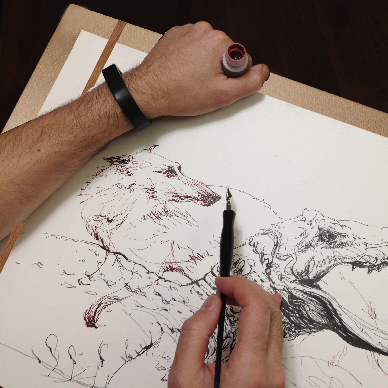 Portapapeles para Dibujo Portátil Grande de Madera (Pack de 2 ...