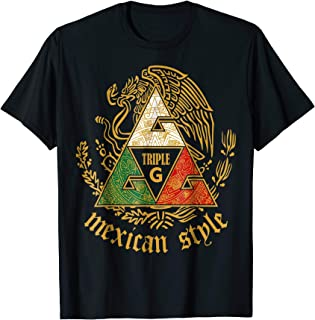 Triple G Triangle mexican style T-Shirt
