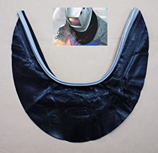 HQ Otos pantalla para salpicaduras de sello campana piel soldadura casco de soldadura cuello