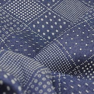 Pre-Cut Cotton Denim Quilting Fabric,Good Quality Craft Cloth,DIY for Sewing Crafting 63