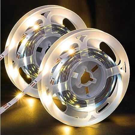 OMERIL LEDテープライト 6M長さ USB給電 SMD2835 30leds/m 粘着テープ仕様 6メートル(2x3M)
