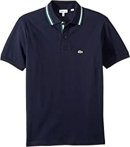 Short Sleeve Collar Detail Polo (Infant/Toddler/Little Kids/Big Kids)