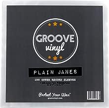 100 Vinyl Record Sleeves - 12.75