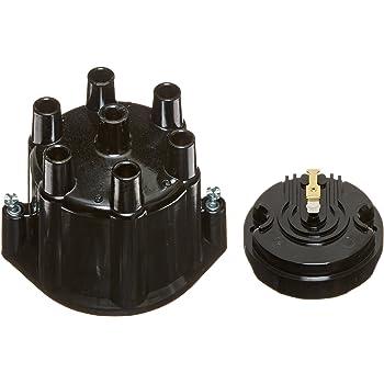 Pertronix D654710 Black Distributor Cap for Flame-Thrower Billet Distributor 4 Cylinder Engine