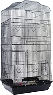 Alfie Pet - Ernie Mesh Bird Seed Catcher Guard Net - Color: Black