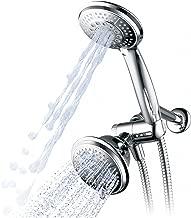 Hydroluxe 1433 Handheld Showerhead & Rain Shower Combo. High Pressure 24 Function 4