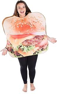 Bodysocks® Burger Costume (Adult)