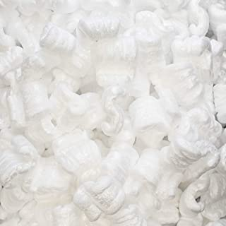 1/4 Cu Ft White Packing Peanuts Popcorn S shape Loose Fill | MagicWater Supply