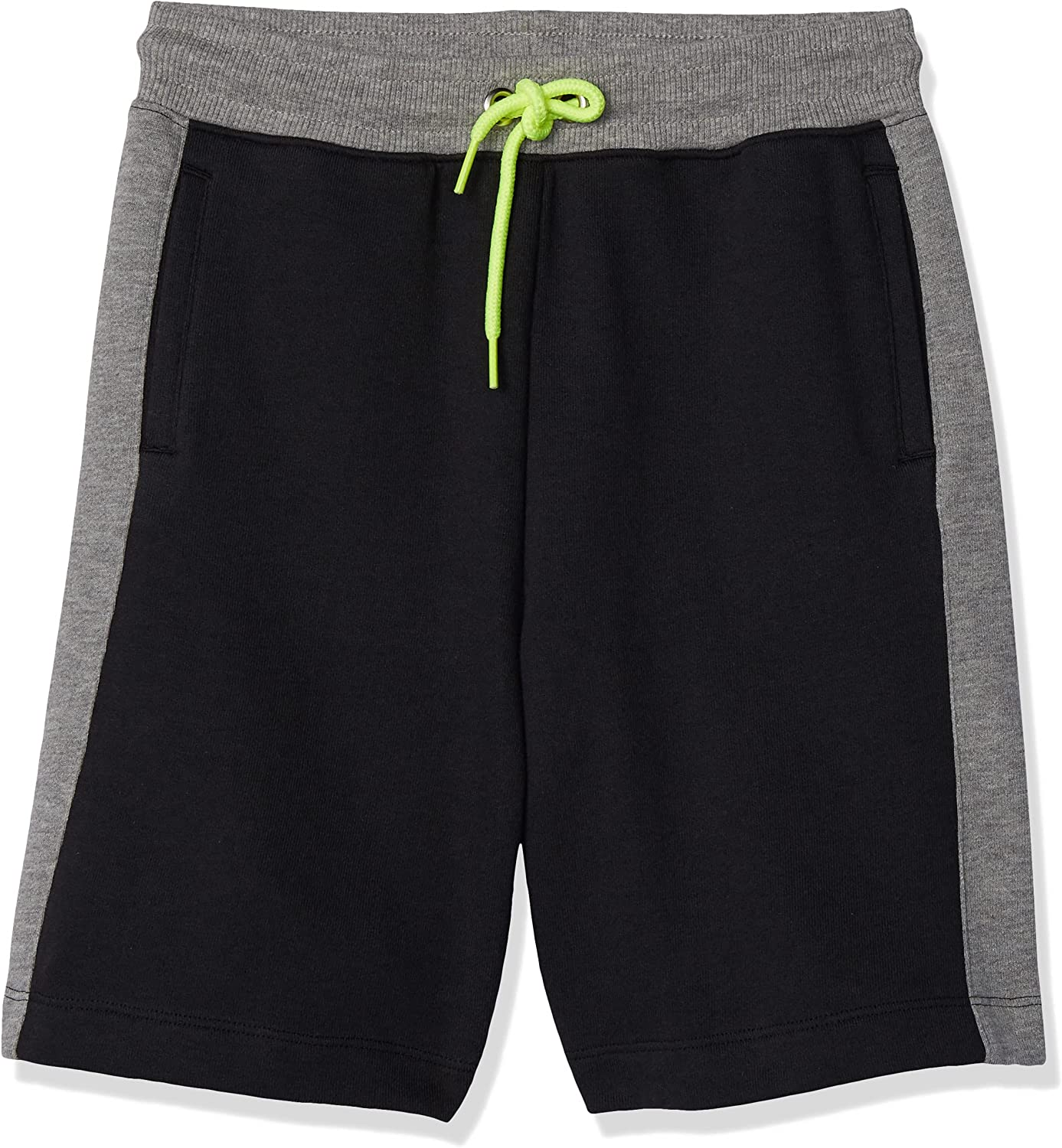 Amazon Brand - Spotted Zebra Boys' Colorblock French Terry Shorts