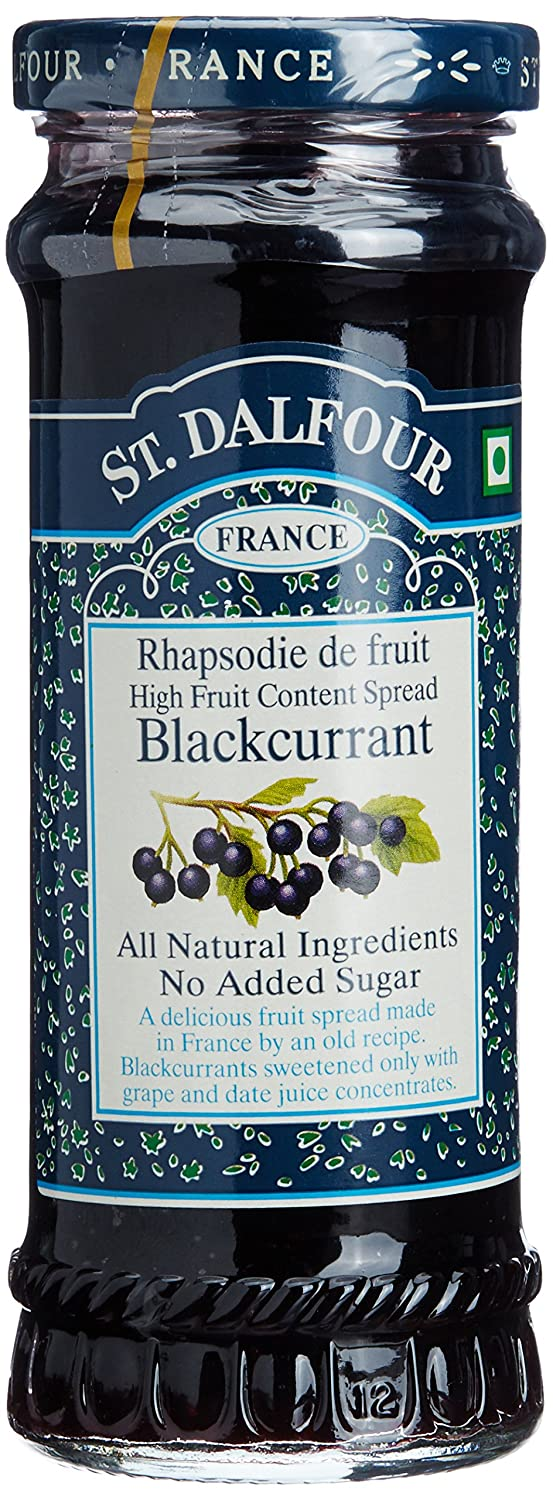 Charles Jacquin-St.Dalfour Free shipping New Consrv Blk Curr 100%Fruit 10-Ounce Large-scale sale