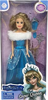 """Snow Queen Classic Princess 11.5"""" Doll with Accessories Set (CP22527-D)"""