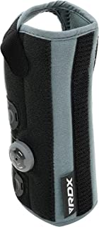 RDX Wrist Support Brace Splint, FlexDial Compression Sleeve, Neoprene Protector for Adjustable Strap for Joint Pain Relief Gym Carpal Tunnel Arthritis Relieves Sprains RSI Tendonitis, Sold As Single