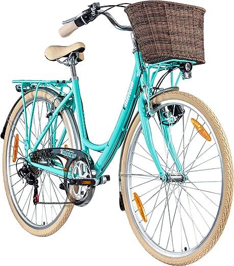 Galano 28 Zoll Valencia 6 Gang Citybike Stadt Fahrrad Damenrad Damenfahrrad