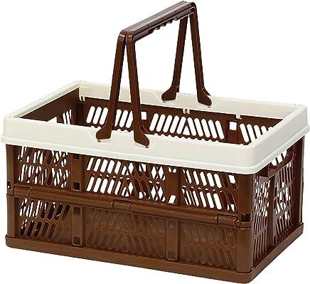 折叠 堆叠 容器盒 棕色 Medium 400729906