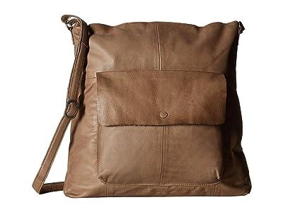 Day & Mood Malou Hobo (Warm Grey) Hobo Handbags