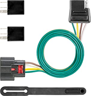 CURT 56375 Vehicle-Side Custom 4-Pin Trailer Wiring Harness for Select Chevrolet Equinox