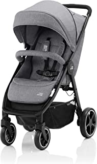 Britax Romer B-AGILE M Stroller for Group 01,From 0-4 YEARS,From 0-22 kg -Elephant Grey
