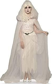 Costume Co. Women's White Hooded Cape