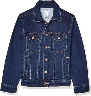 Amazon Brand - Spotted Zebra Boys Knit Denim Jacket