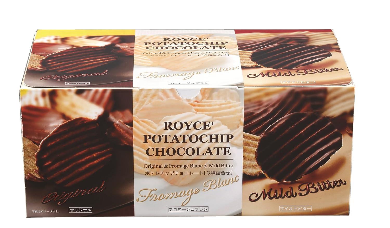 Royce Potato trust Chip Free Shipping New Chocolate Three Form Hokkaodo Taste Shipping