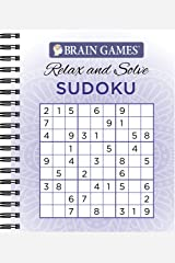 Brain Games® Relax and Solve: Sudoku Spiral-bound