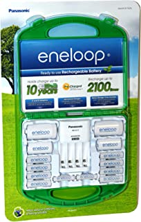 Panasonic Eneloop Rechargeable Batteries & Charger (917976)
